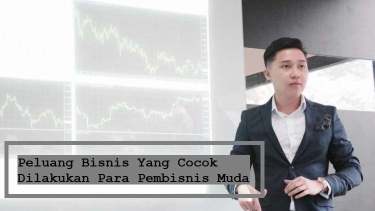 Peluang Bisnis Yang Cocok Dilakukan Para Pembisnis Muda